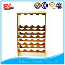 Wooden wine storage wine rack furniture