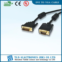6ft DVI TO VGA CABLE Core For Connecting Computer To Monitor