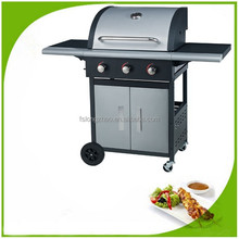Professional Series SS 3B Gas Stove Tops Gas barbecue With Grill Roasting