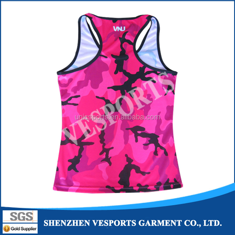Accept sample custom printed singlet dye sublimation make for Custom printed dress shirts