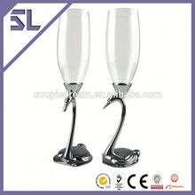Super quality silver wine glasses antique wine tools onyx stone goblets plastic goblet