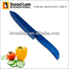 Beautiful & Deluxe Blue Color Blade and Handle Ceramic Kitchen Knife in 6 inch