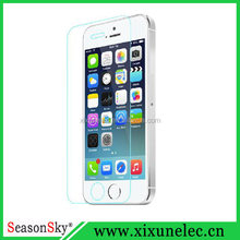 tempered glass screen protector for iPhone 5 5S 0.33mm 9H