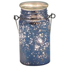 decorative .on-off-Timer glass jar