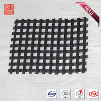 Asphalt reinforcement biaxial fiberglass geogrid,road based paver material