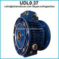 Udl0.37 planrtary variador de velocidad continuo
