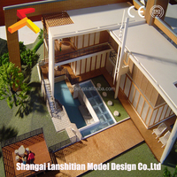 World Architecture Series 3d architectural model,advanced building construction materials