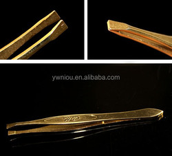 Premium Quality Stainless Steel Tweezers of Best tool to Pluck Eyebrow and Ingrown Hairs