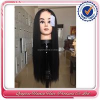 Howshine factory stock full lace wig sew in 100 virgin brazilian human hair wig