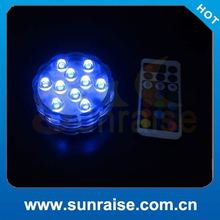 party decoration led candle light submersible