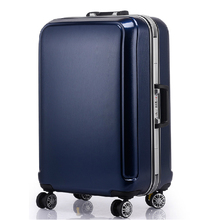 ABS+PC Aluminum frame business travel trolley/carry on luggage suitcase