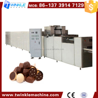 TKC500 HIGH QUALITY CHOCOLATE PROCESSING DEPOSITING MACHINE LINE PLANT