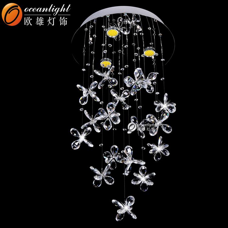 Raindrop Chandelier Prism Glass Flower Om66003 450 Jpg