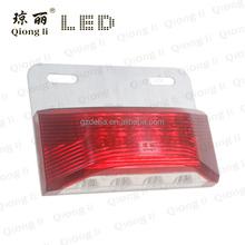 red ultrasonic wave sealing waterproof led light downlight for trucks