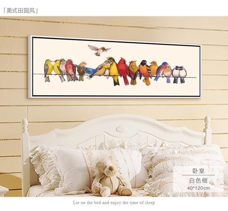 Stile country americano decorazione di attaccatura di parete pittura ...