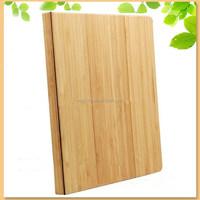 hot sale for iPad mini case, flip bamboo smart cover case for ipad mini