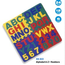Educational puzzle sets EVA floor mat
