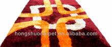 2015 new design polyester shaggy rug