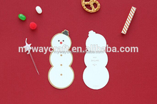 new design christmas different shapes greeting cards