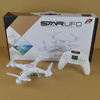 2.4g 4ch rc quadcopter ufo with headless mode one key return helicopter