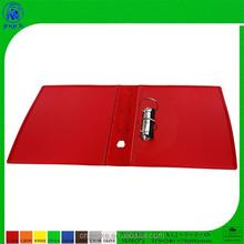 PP cover 2 ring plastic folding file folder, for office use