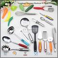 Juego de utensilios de cocina de acero inoxidable de fábrica china