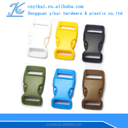 Curved & Flat Heavy Duty Dual Adjustable Side Release Plastic Buckles