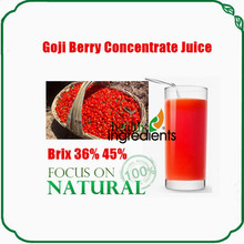 organic goji juce goji berry juice+ blueberry juice brix 15% in bulk