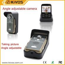 video door phone sd card wireless video door phone with take pictures