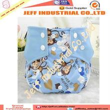 2015 New Design PUL Mix Patterns Baby Cloth Pocket Diaper Cover AI2 Baby Diapers Dual Gussets Leak Prevention Nappies