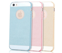 Back Cover Case Shell Shining TPU Back Transparent Case for iPhone 5 5ss New Design