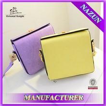 Alibaba online colors small shoulder bag camera bag fashion colors bag with long belt