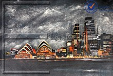 Wholesale High Quality Modern Landscape Canvas Paintings