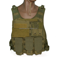 Hot sale Tactical Military Combat Assault Tactical Vest Adjust Molle Magazine Pouch