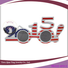 american flag color new year fashion Party Glasses
