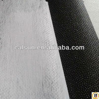 Polyester coated nonwoven interlining fusing(50#)