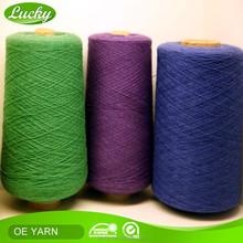Factory direct price cotton polyester TC yarn knitting,vogue knitting,cotton chenille yarn