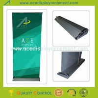 2015 new wide base roll up display stand