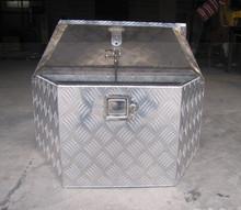 Aluminum truck tool box, aluminum checkered plate tool box, aluminum alloy tool box