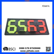 Hand football substitution board soccer coaching board games(FD687)