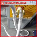 Pe pvc pós- tensão esticado ondulado duto da tubulação que faz a máquina