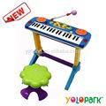 plástico de música de piano brinquedos para as crianças brinquedos