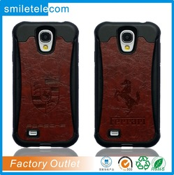 factory multi-colors custom mobile cover leather phone case for samsung s4 , for samsung galaxy s5 case leather