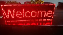 PH10mm led letter sign of electronic message board for schools