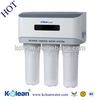 Kclean 5 stages promotional non-electric booster pump dolphin ro water filter