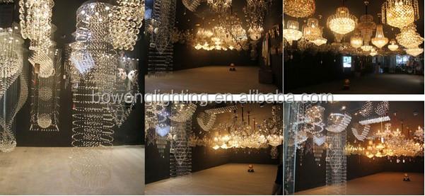 Designer kristall kronleuchter kristall pendelleuchte, glastropfen ...