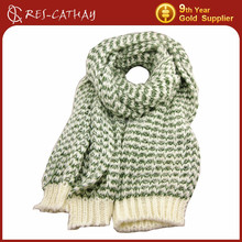 thick heavy knitted scarf patterns