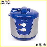 10 cup, 120V unique design stainless steel rice cooker