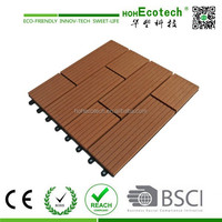 wood plastic composite garden deck tiles cheap outdoor wood look tile