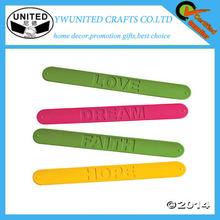 Silicone Wrist Band/ Silicone Slap Bracelet/ Silicone Slap Band